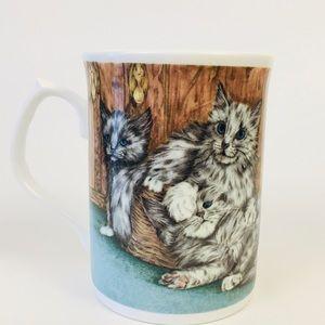 Duchess Dining - Duchess bone china cat and kitten coffee tea cup